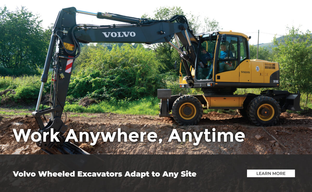 Volvo Wheeled Excavator Sales and Service